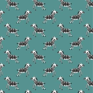Zebra, Soft Sweat, blau