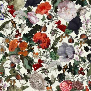 Viskose Jersey, Blumen