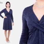 Jerseykleid Gloria - Papier-Schnittmuster
